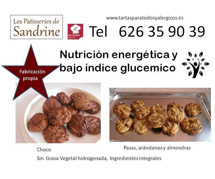 Nutrición energética con bajo índice glucémico