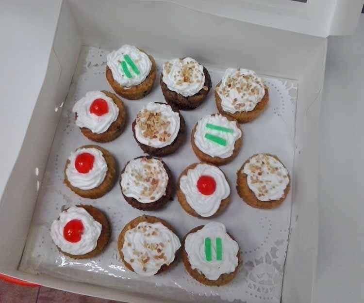 Cupcakes veganos en Madrid sur
