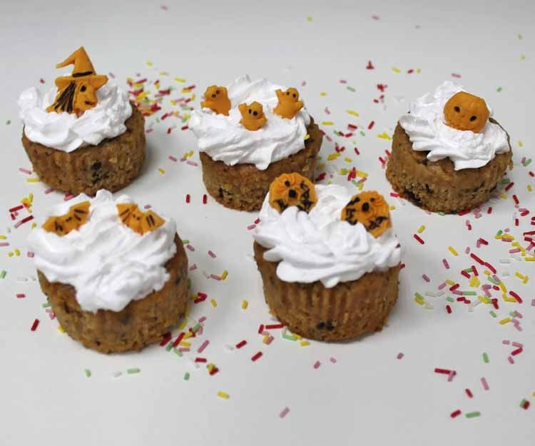 Cupcakes veganos Halloween en Madrid sur