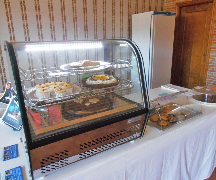 Interior de la pastelería