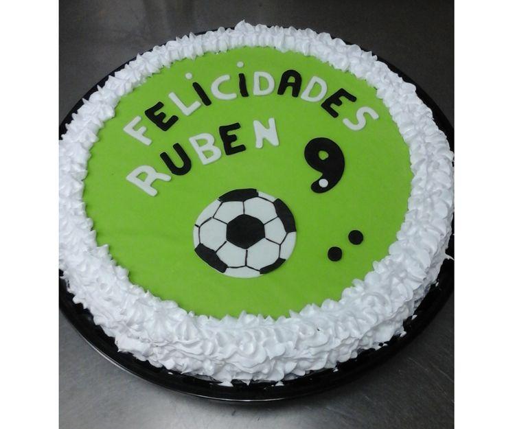 Tarta de cumpleaños para Rubén