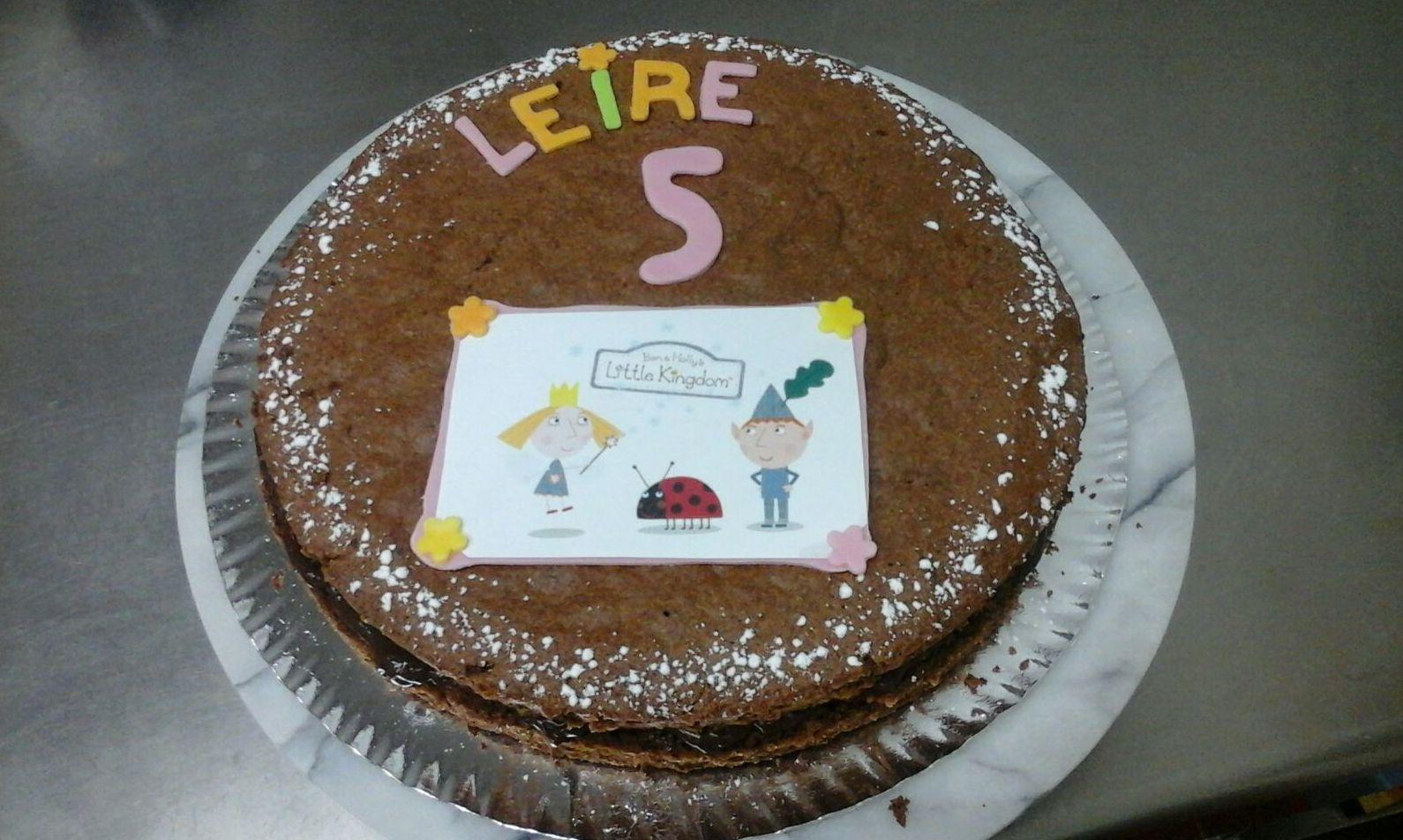 Tarta de cumpleaños para Leire