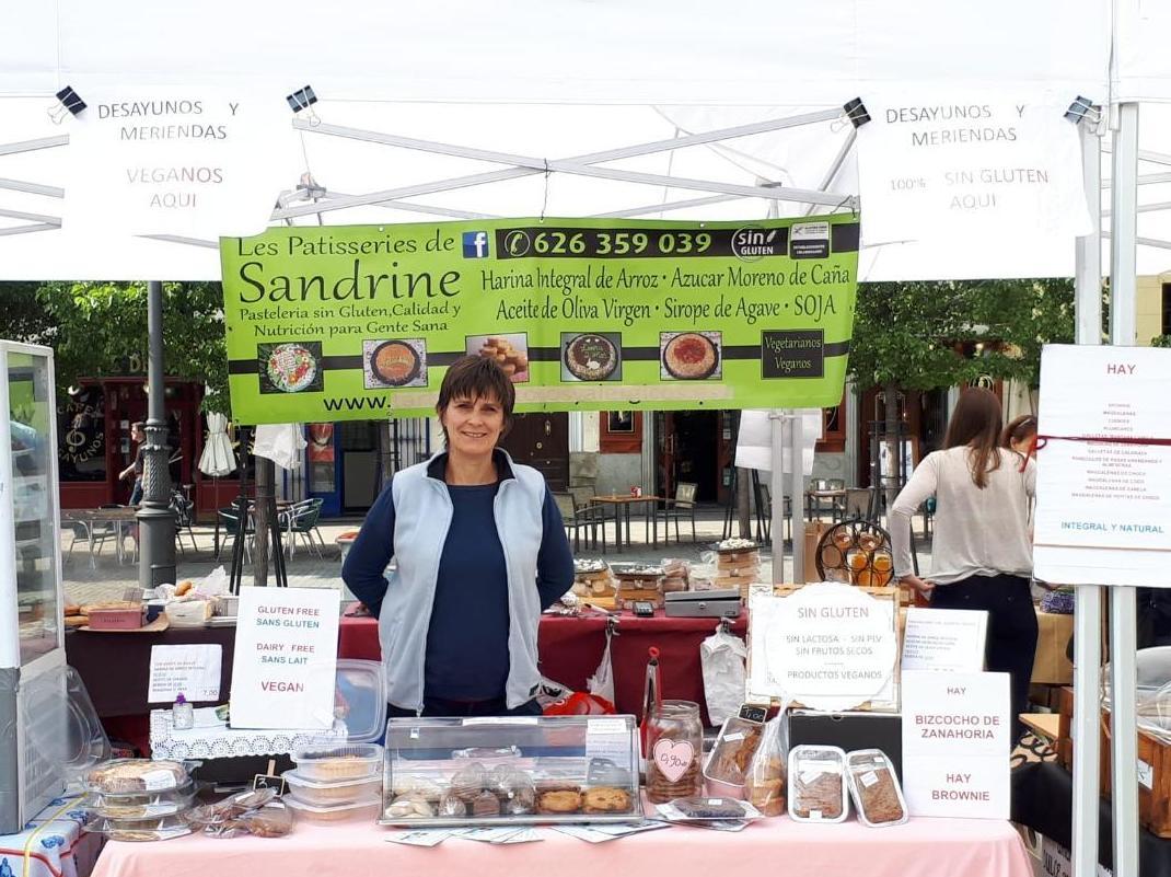 Les patisseries de Sandrine, pastelería sin glutén