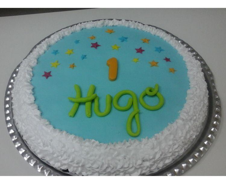 Tarta de cumpleaños para Hugo