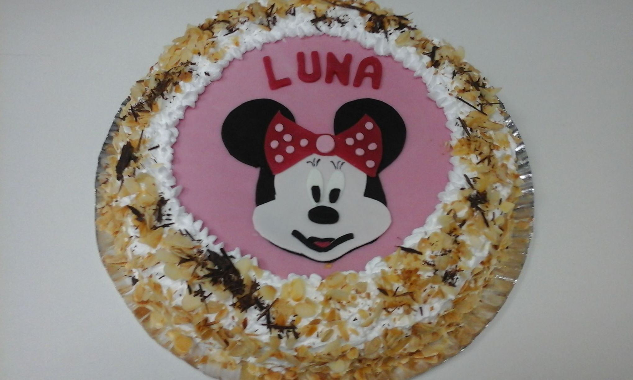 Tarta de cumpleaños para Luna