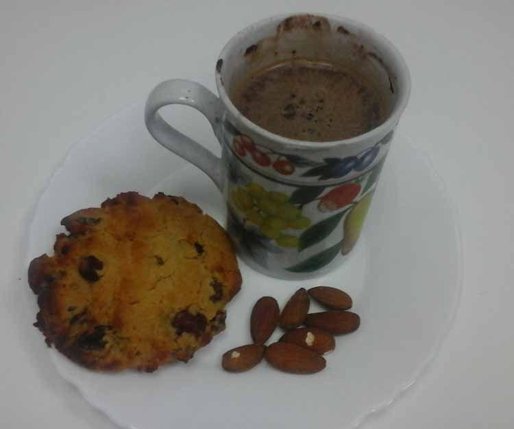 Desayuno con galletas veganas en Madrid sur