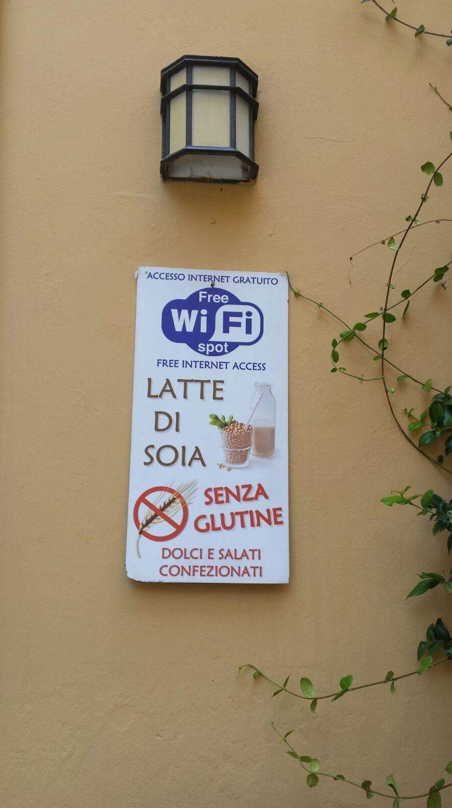 sin gluten en Italia