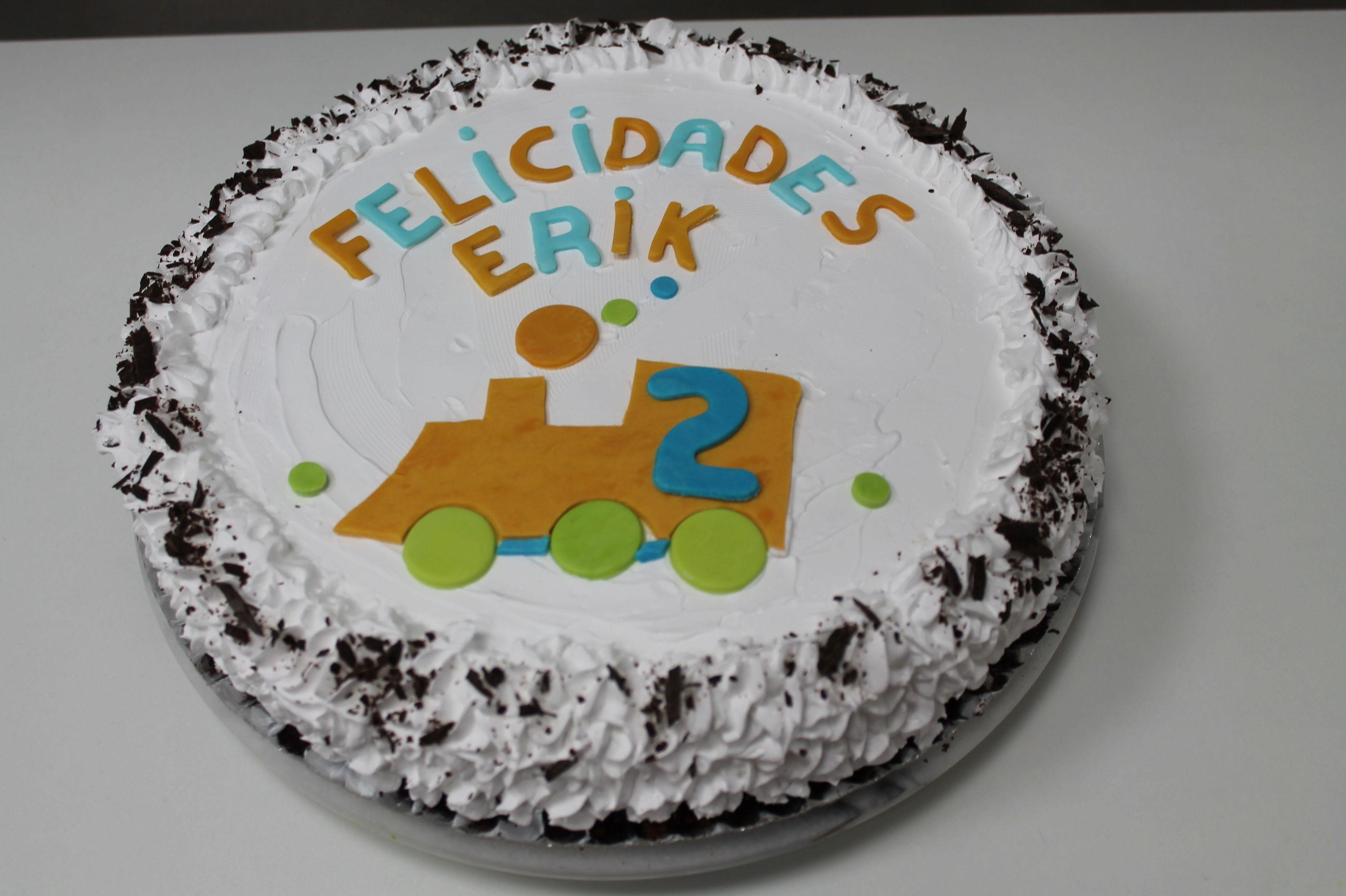 Tarta de cumpleaños para Erik