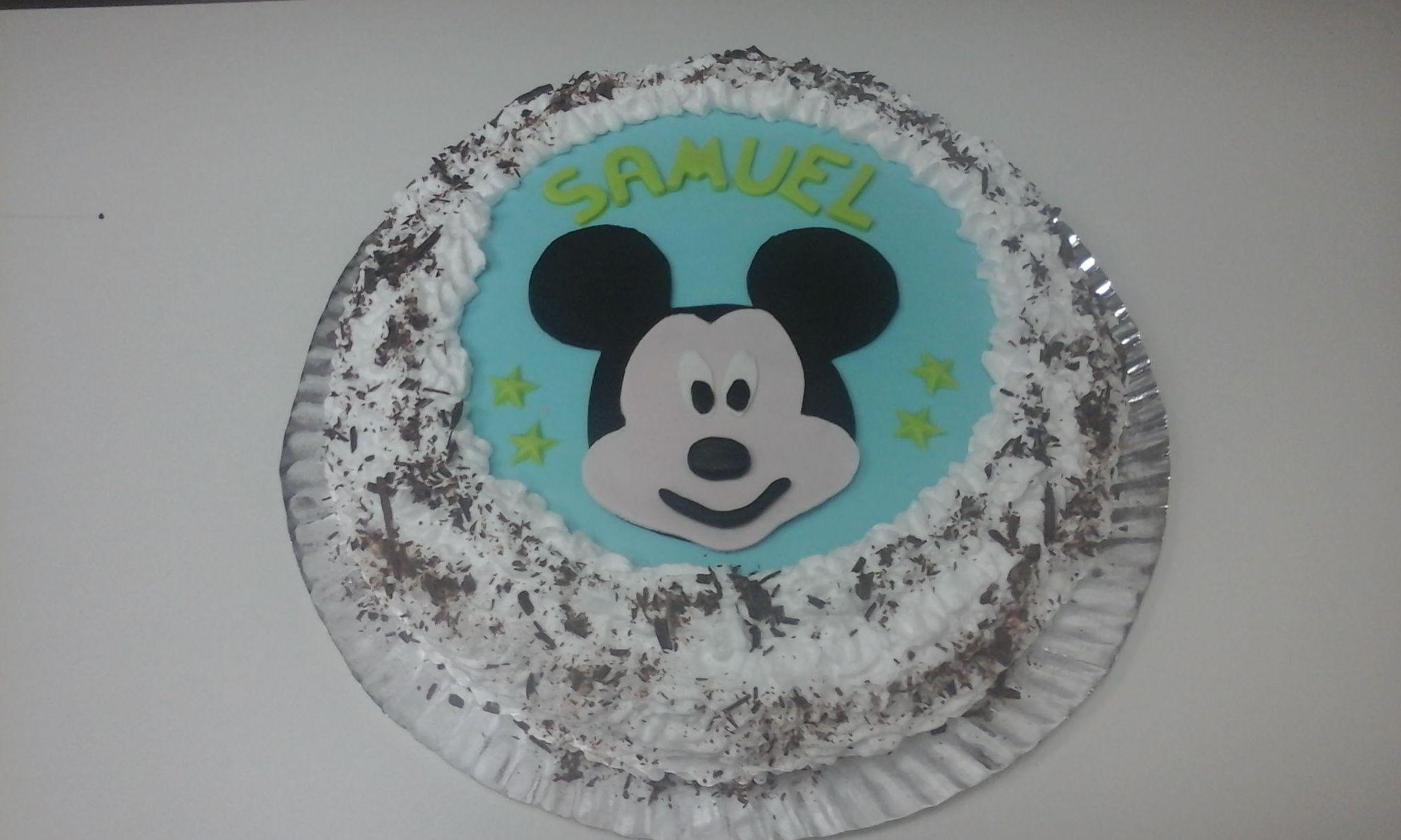 Tarta de cumpleaños para Samuel