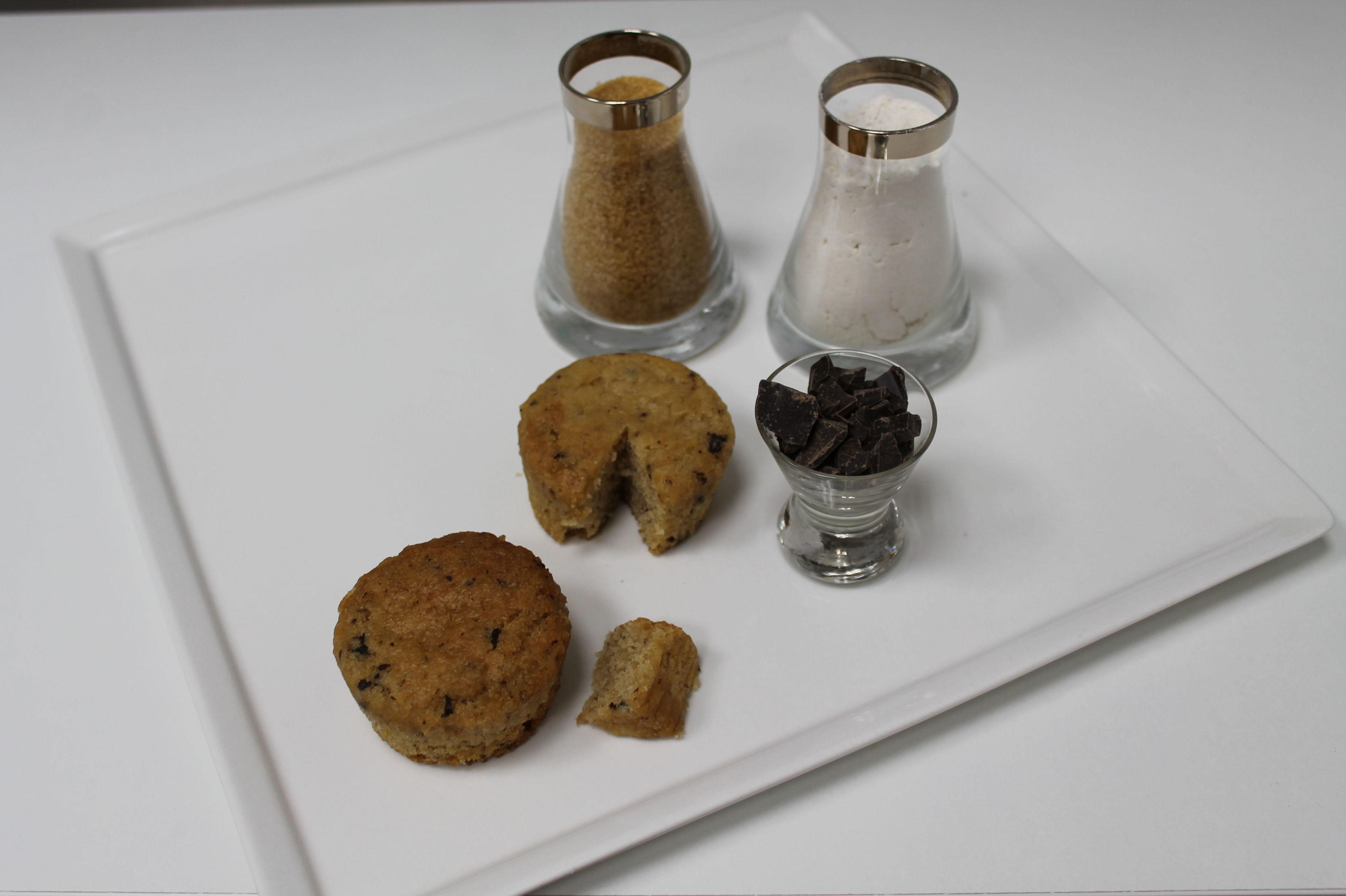 Magdalena de pepita de chocolate. Producto vegano: Productos de Les Patisseries de Sandrine