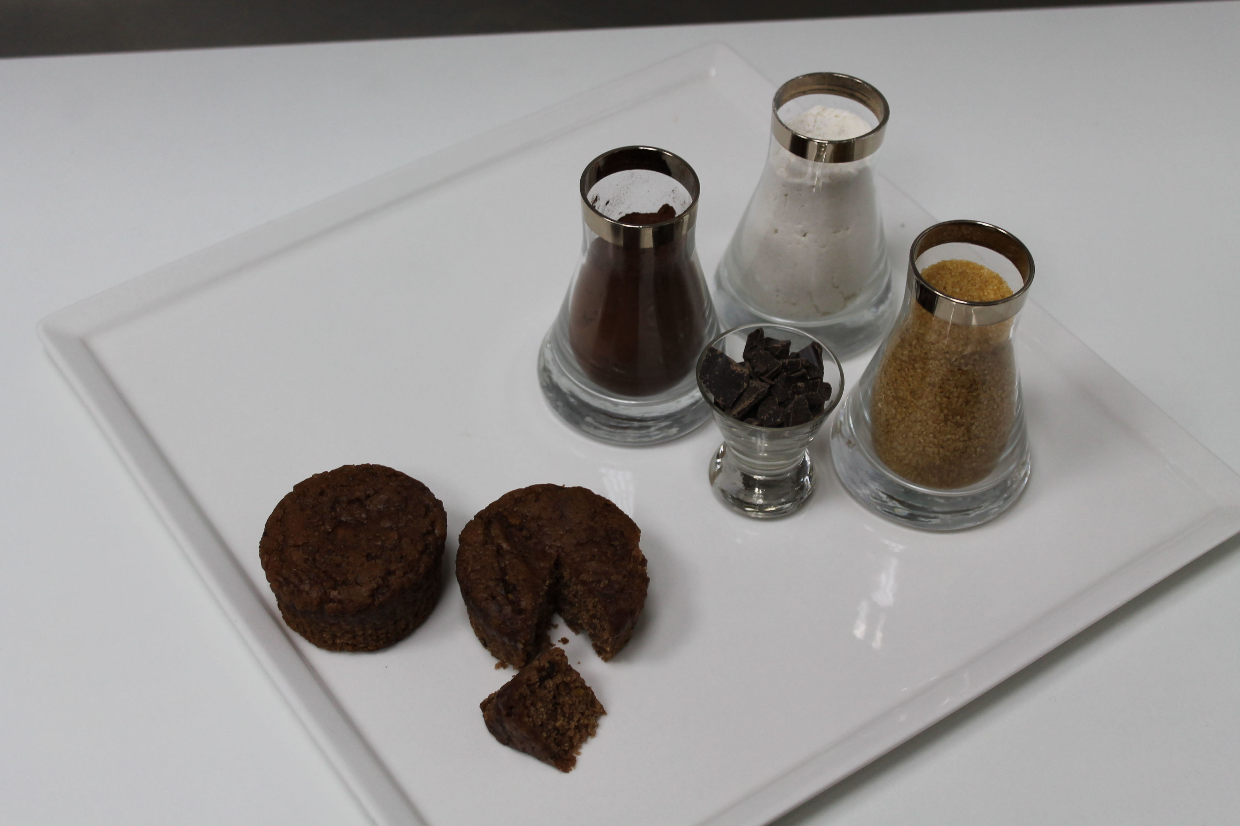Magdalena de chocolate. Producto vegano: Productos de Les Patisseries de Sandrine