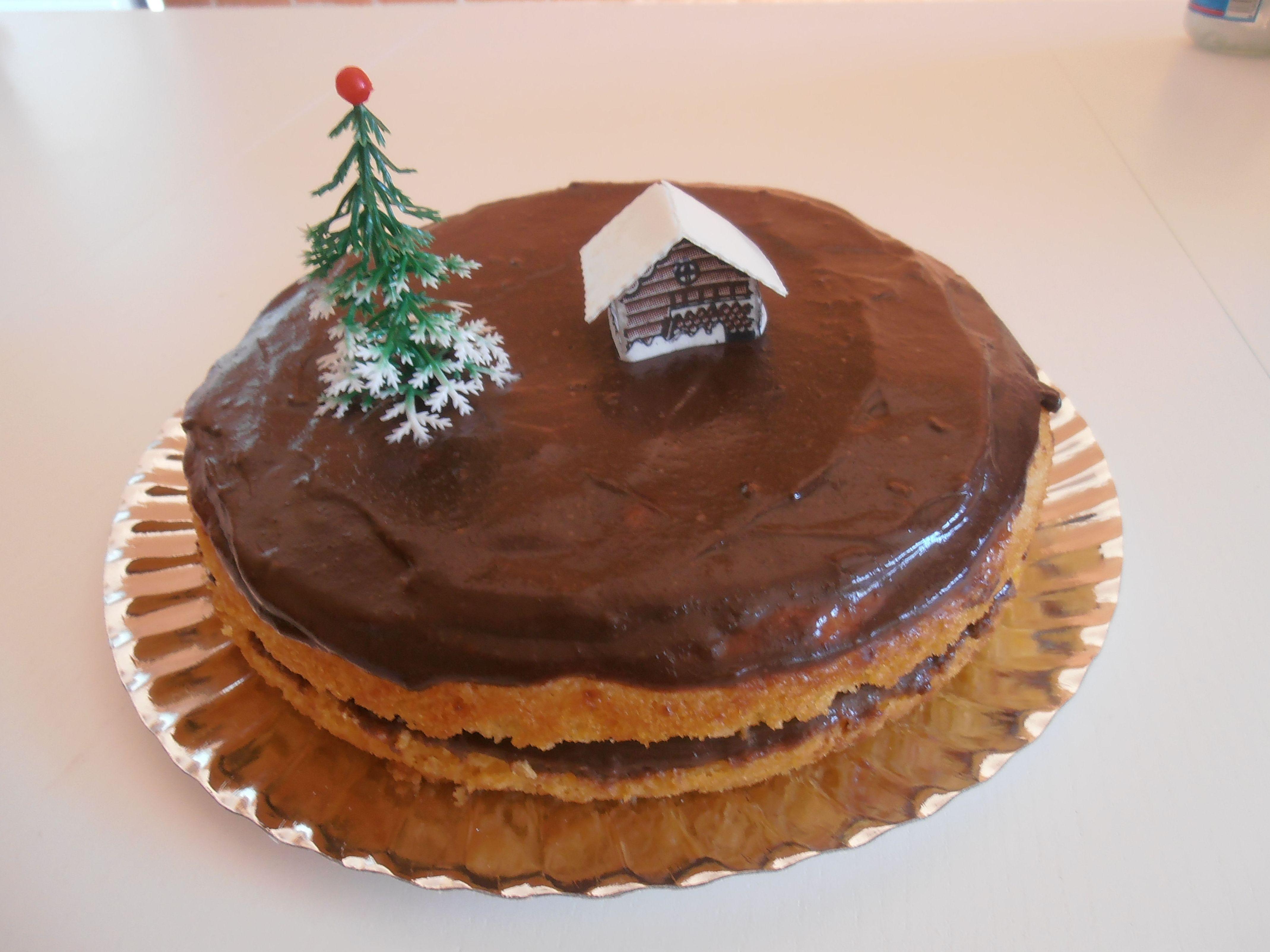 Una tarta de Navidad