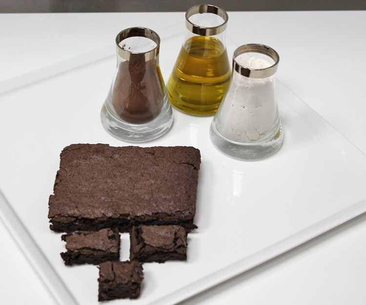 Brownie en Madrid sur