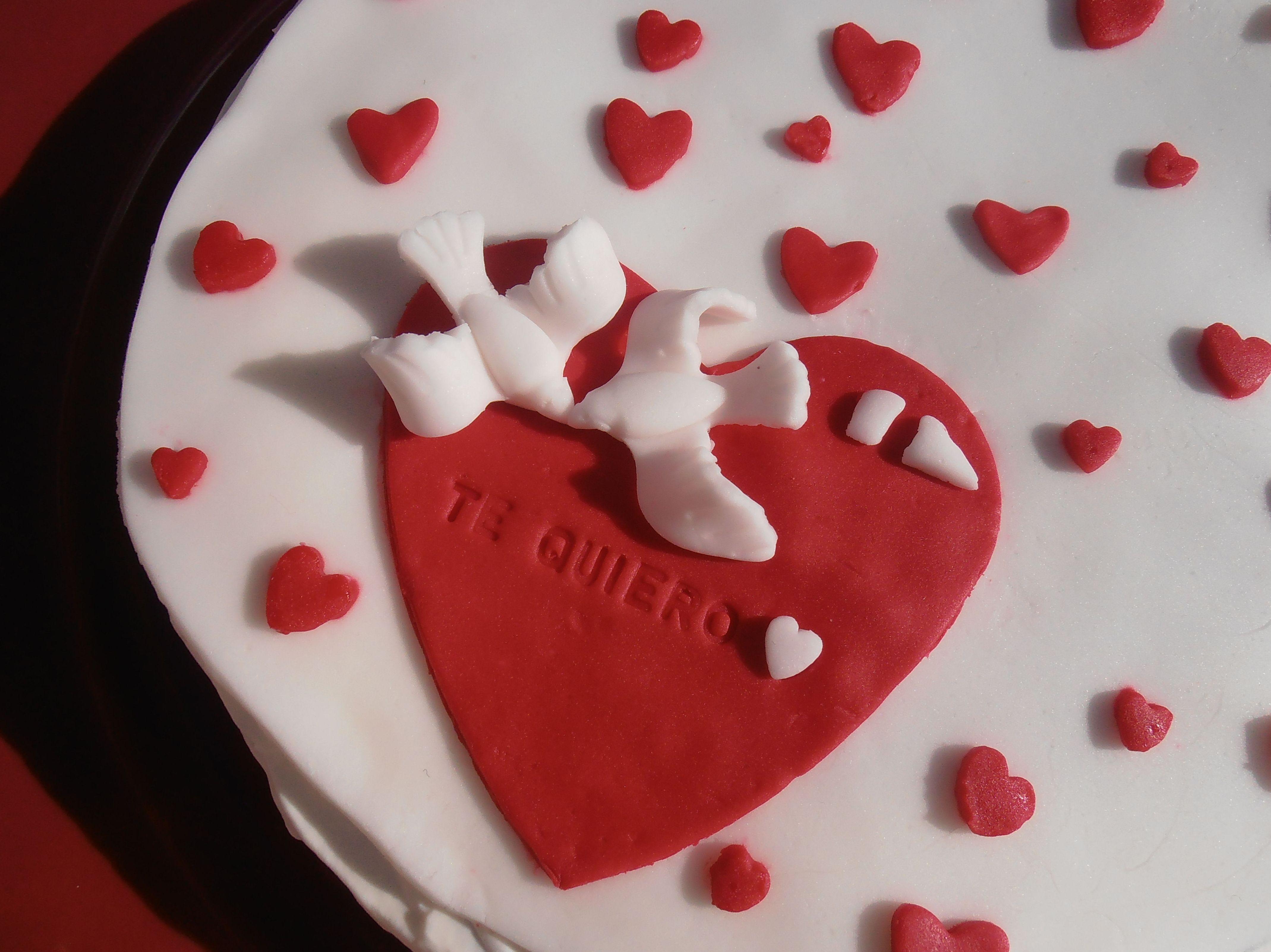 tarta sin gluten para enamorados