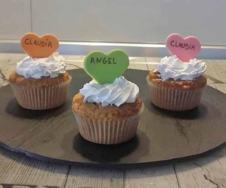 Cupcakes para bodas en Madrid sur