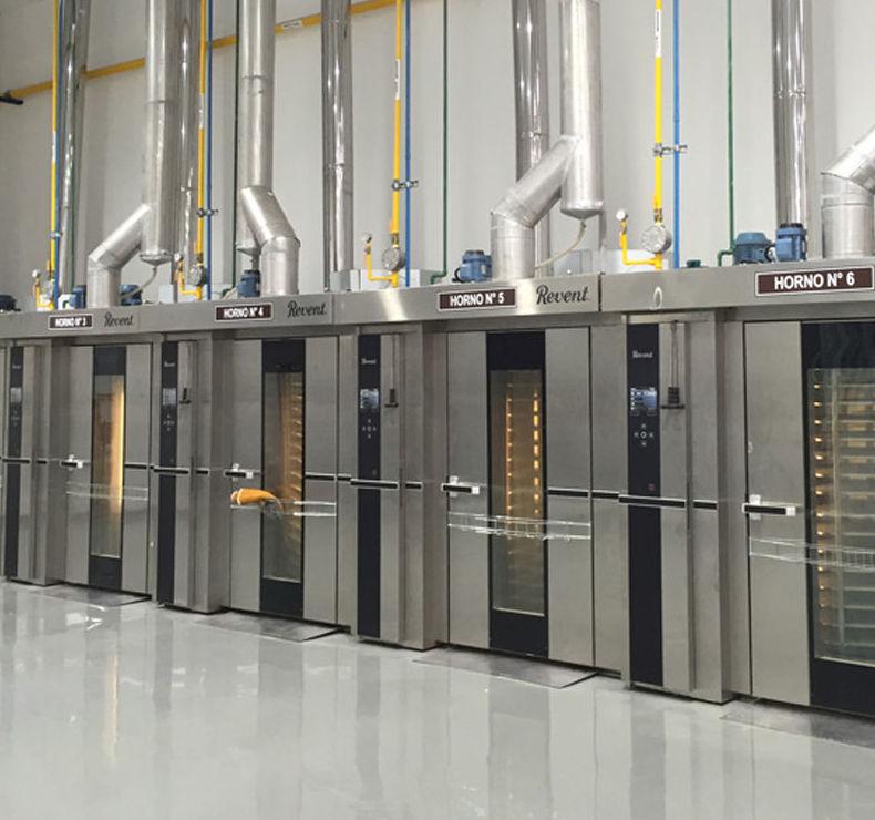 Nueva instalación de hornos rotativos REVENT