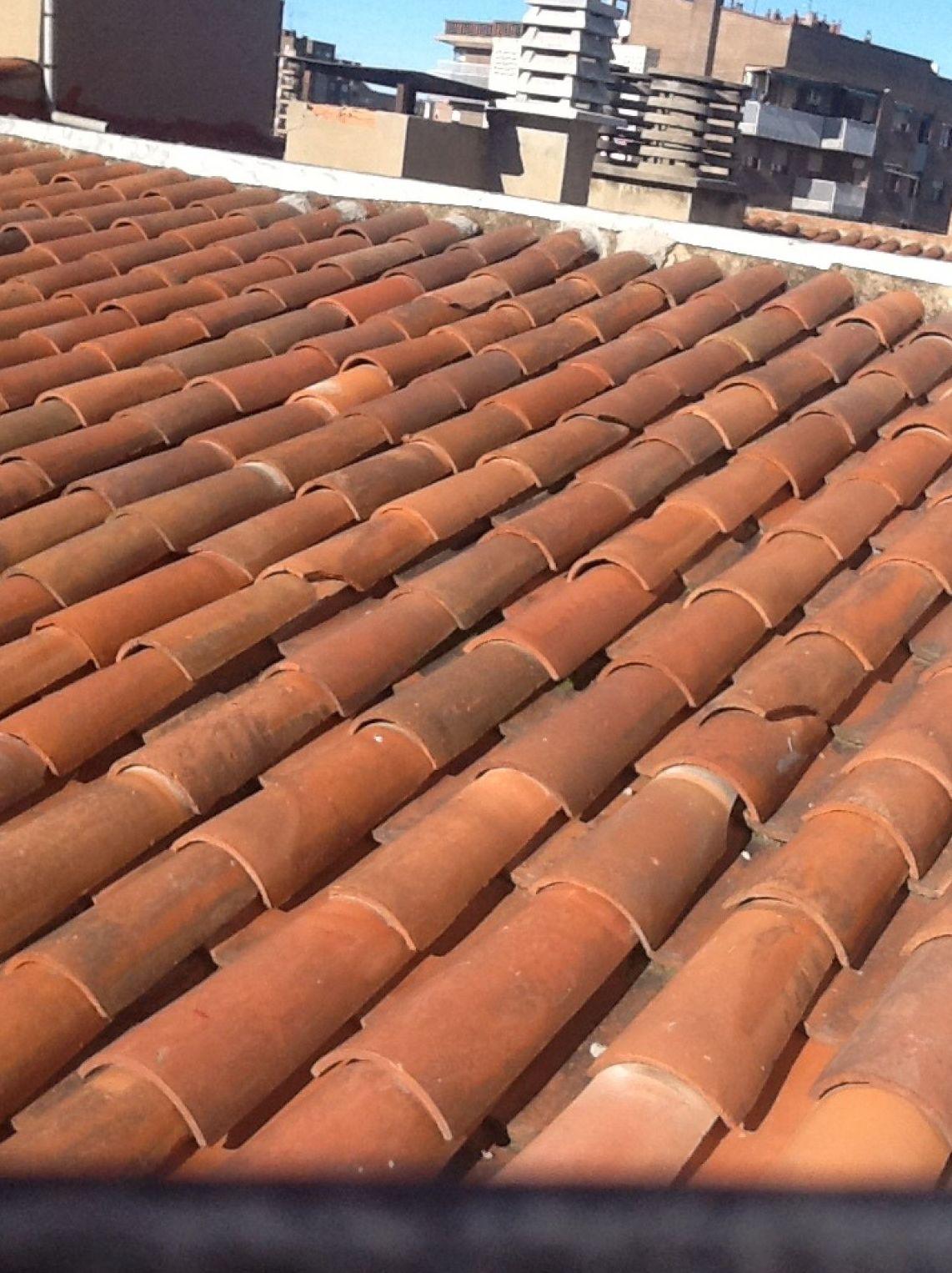 Obras de reparación de tejados