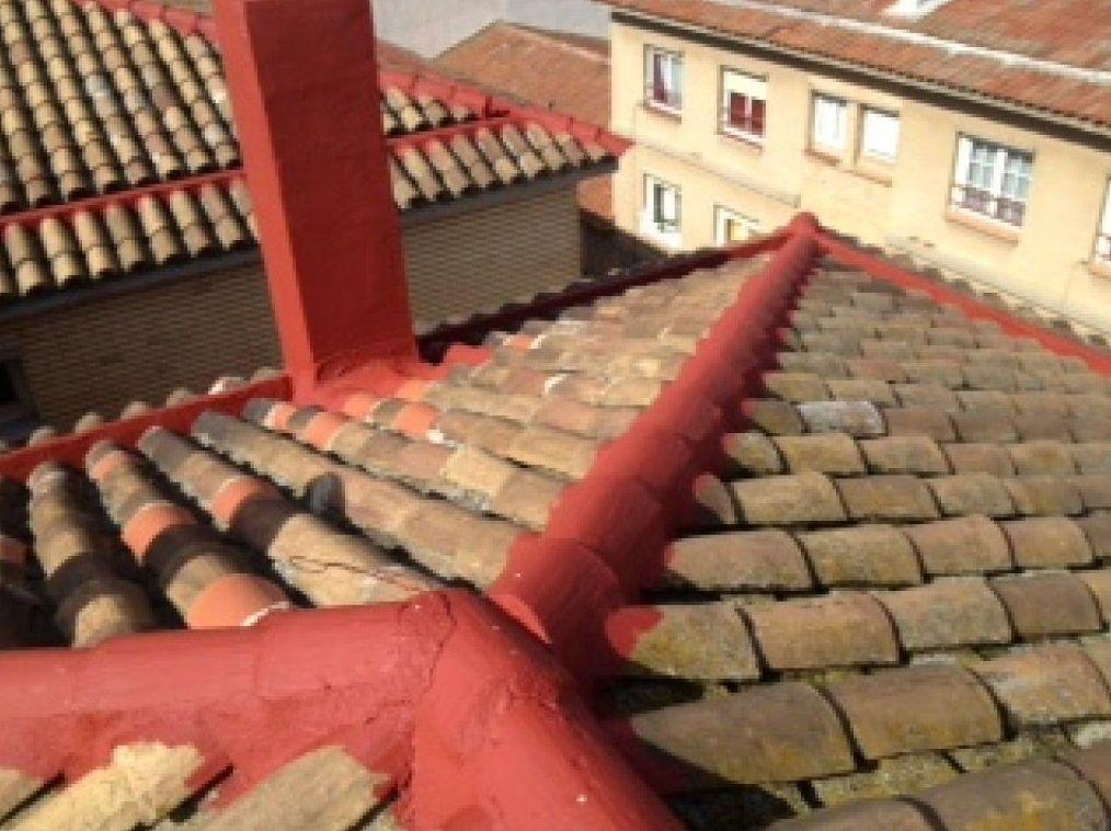 Impermeabilización de juntas de tejados