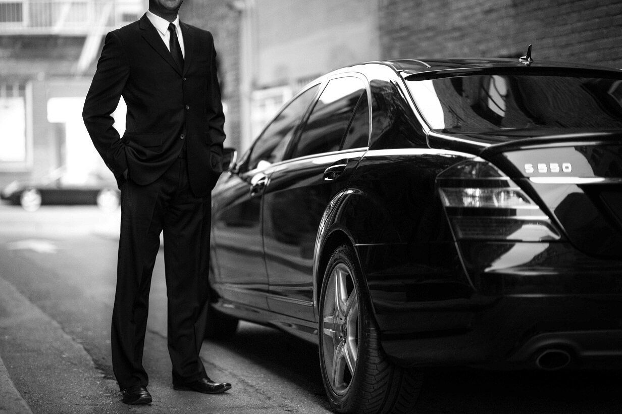 Hire of cars with driver, private transport in Madrid