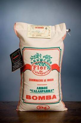 Arroz Flor de Calasparra de la variedad bomba