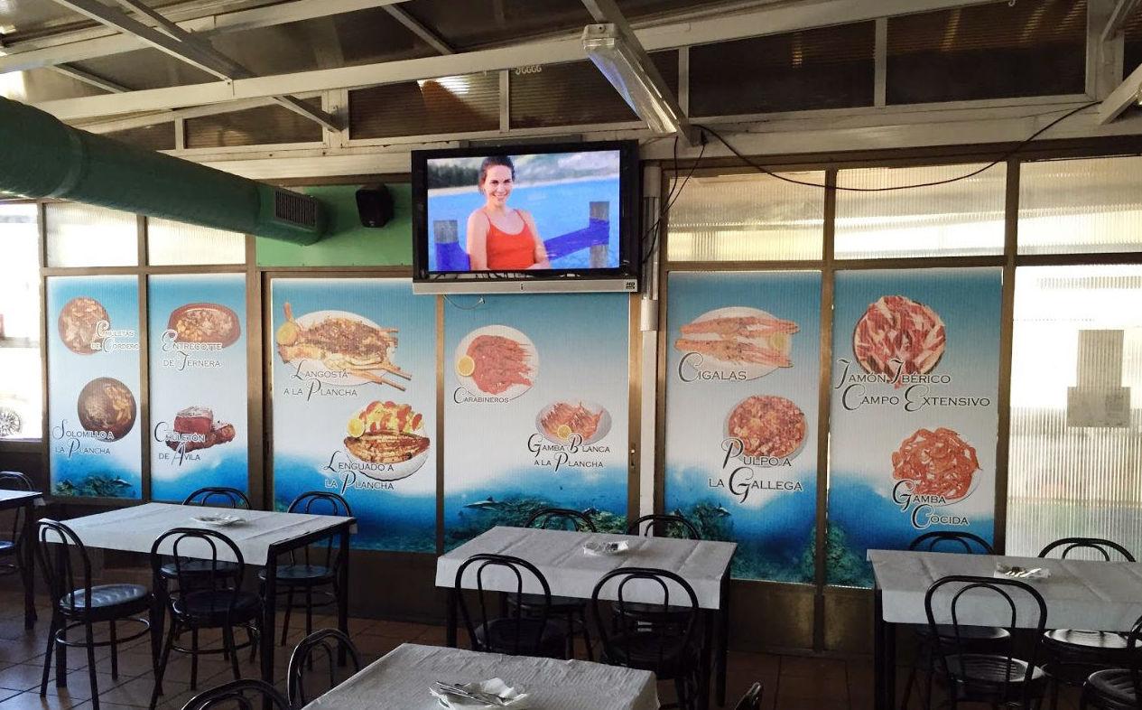 Marisquería y bar de tapas en San Fernando de Henares