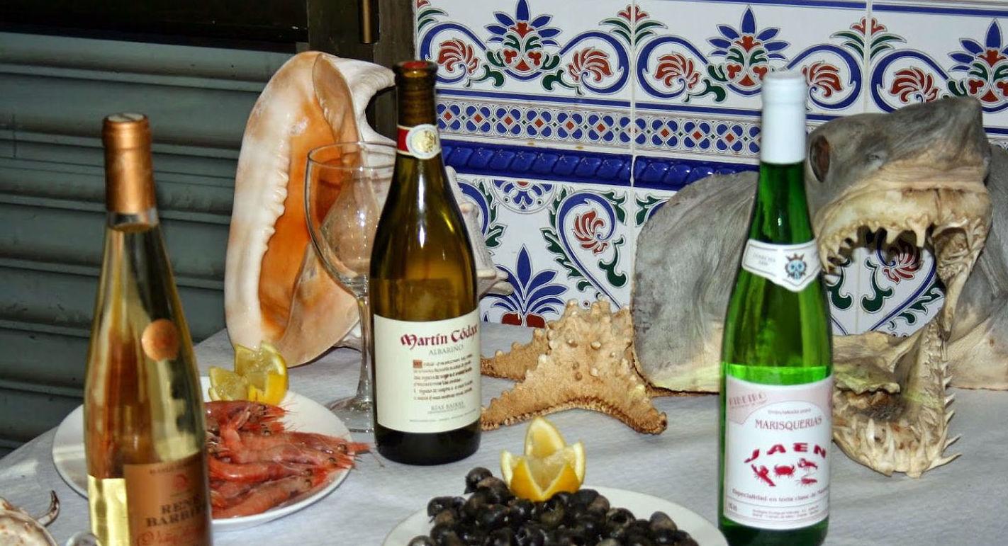 Diferentes menús: Carta  de Bar Jaén Marisquería