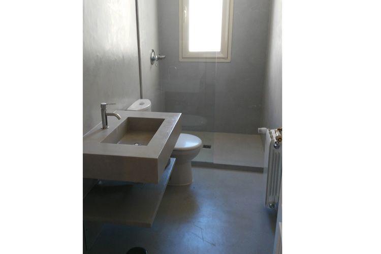 Reforma integral de baño con mármol