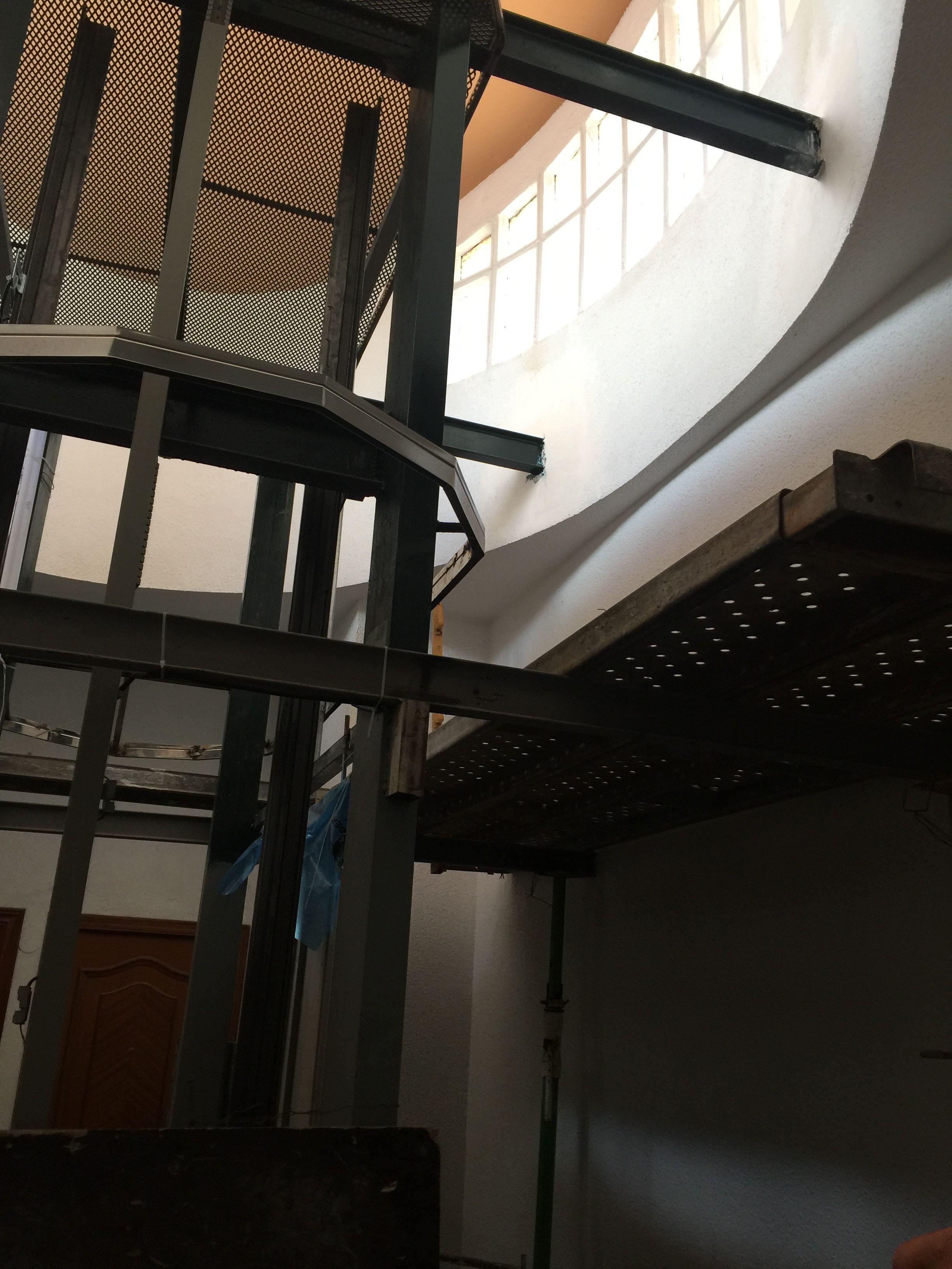 Rehabilitación ascensor después
