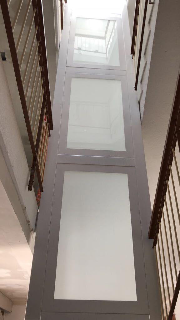 Estructura autoportante ascensor
