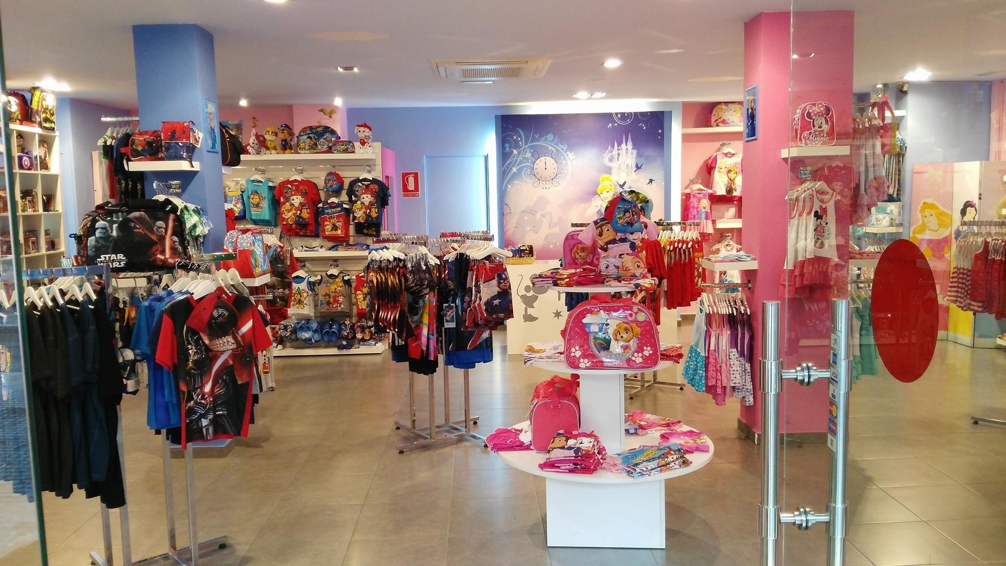 Visita nuestra tienda de productos Disney