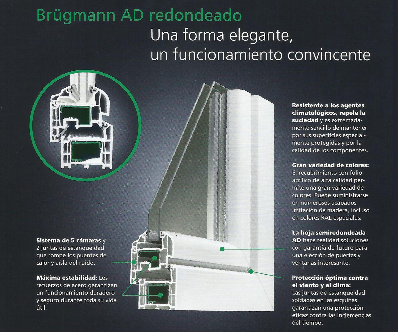Ventanas de PVC Brügmann en Burgos