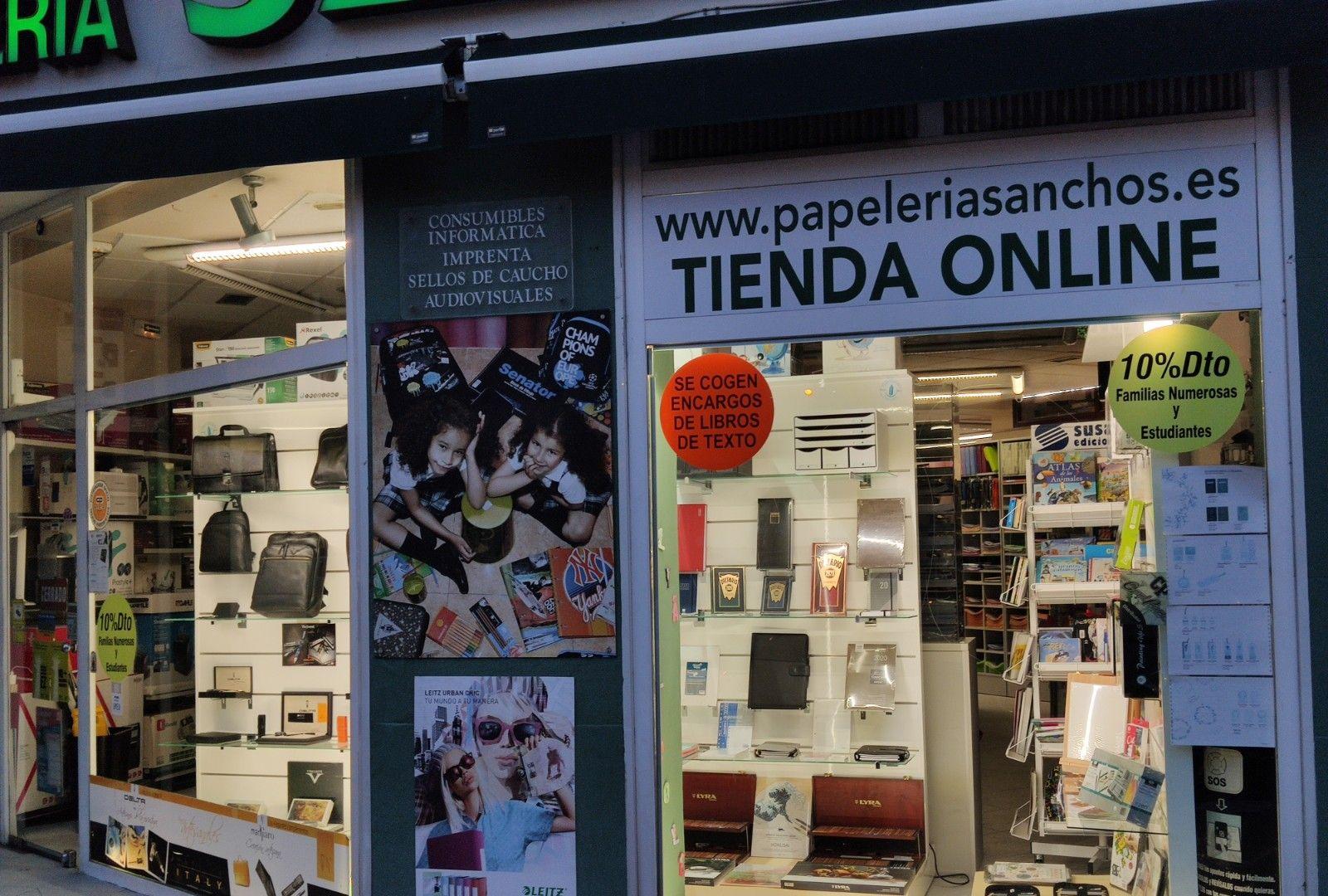 Consumibles, informática, papelería, imprenta, sellos de caucho....on line y en tienda física.