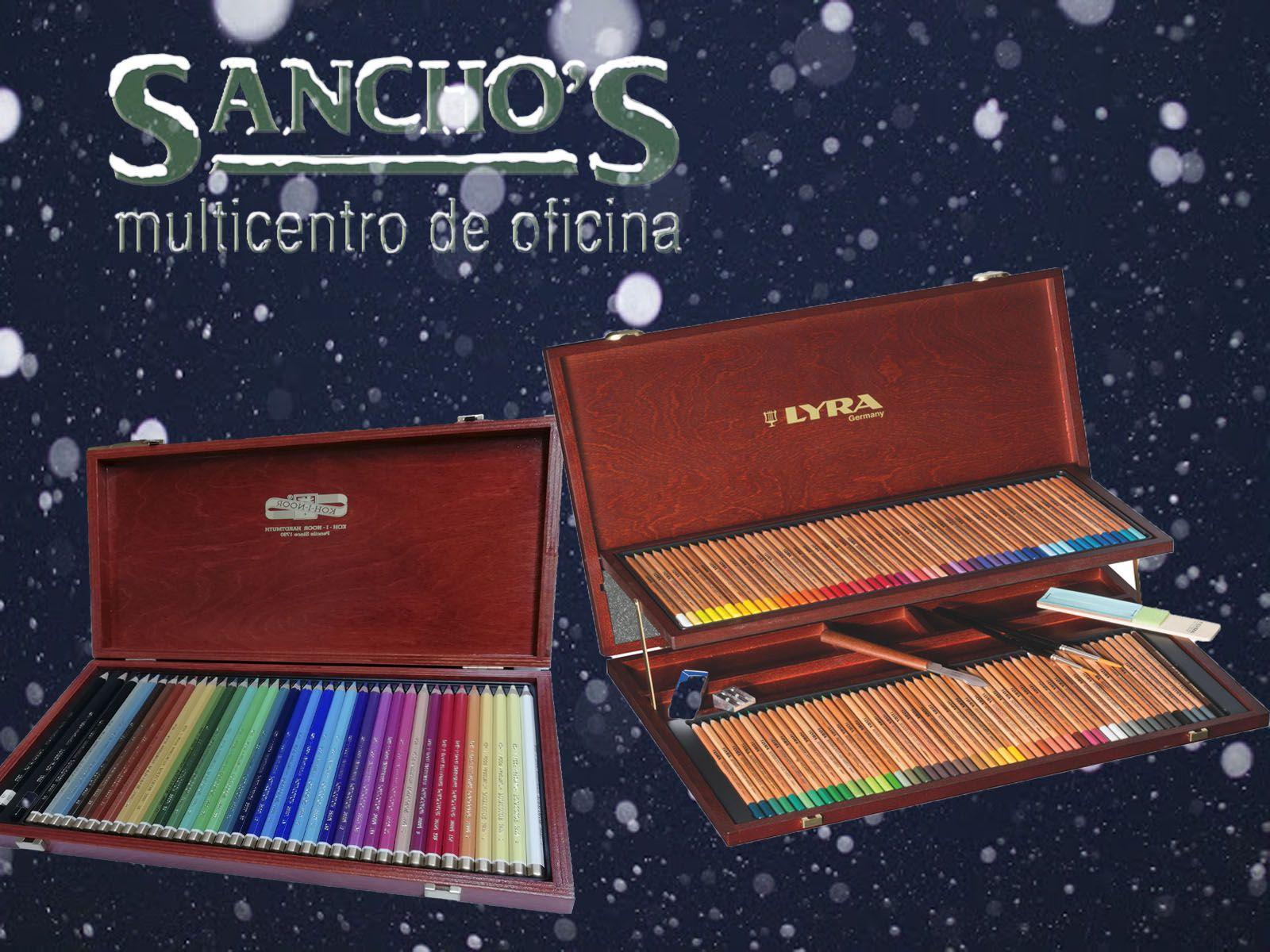 Estuches de rotuladores y lápices. hacemos del mundo color. Precios especiales para estas Navidades en Papelería Sancho's