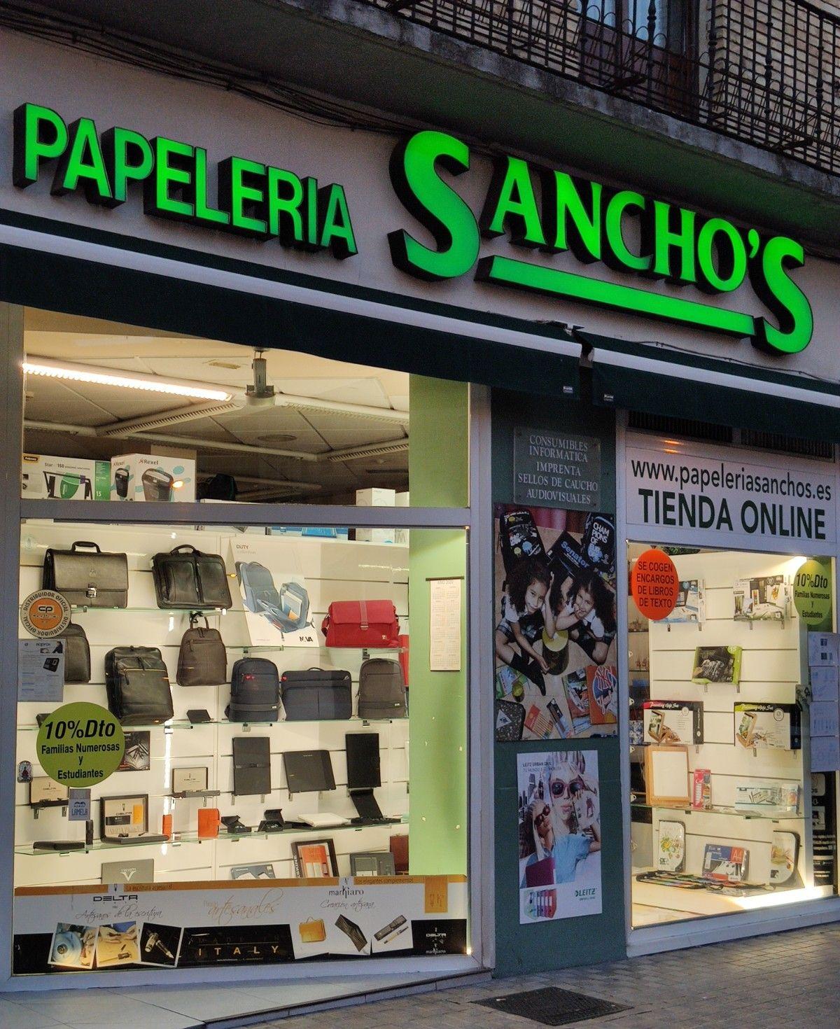 Papelería y material de oficina en Pamplona