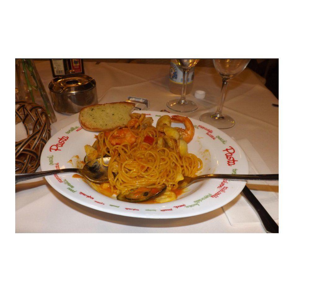 Pasta: Carta de Restaurante  Itálica
