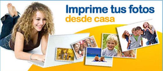 imprime tus fotos desde casa.