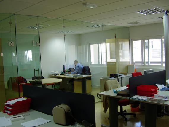 oficinas vidrio