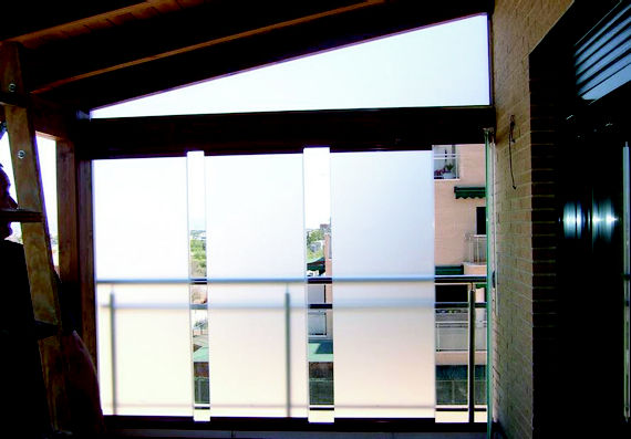 cortina de cristal