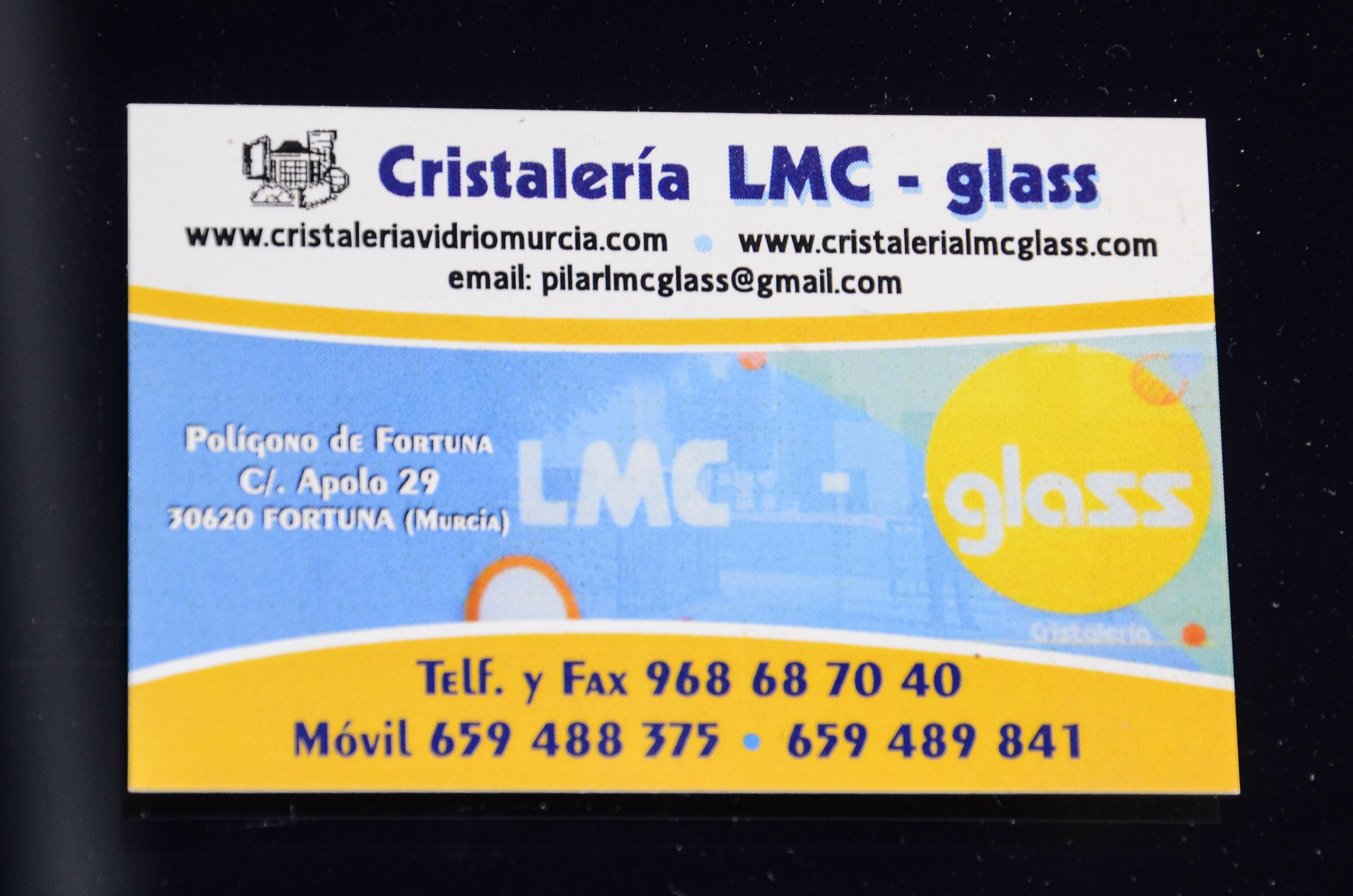 Foto 4 de Cristalerías en Fortuna | LMC Glass