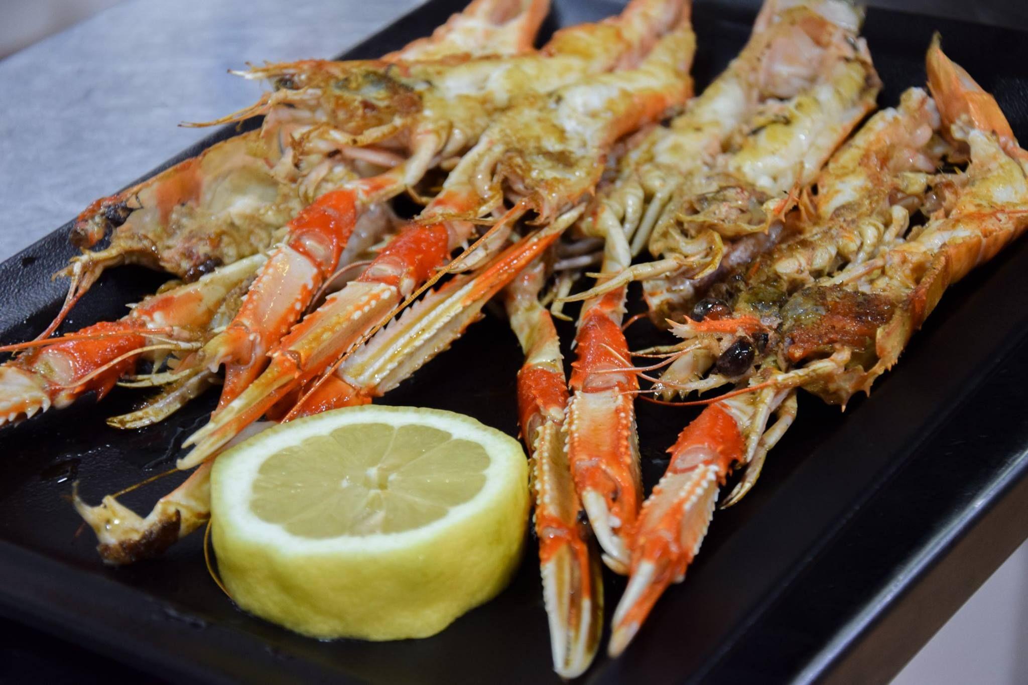 Comer marisco en Begoña