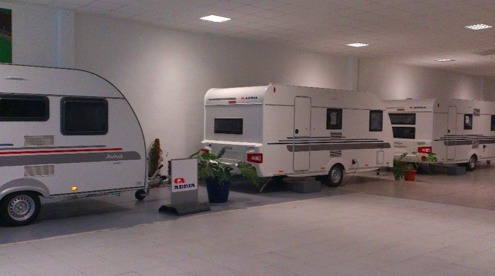 Exposición Caravanas Adria 2016