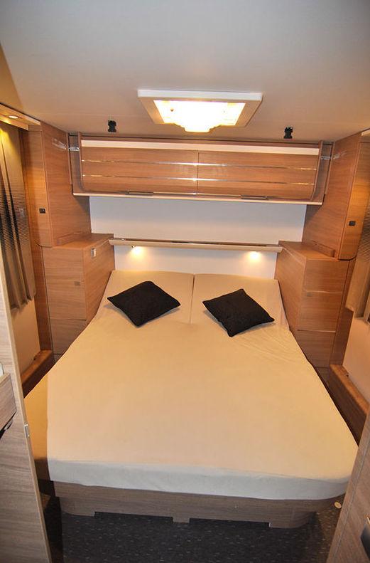 Caravana Cama isla en asturias