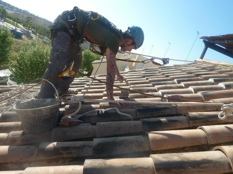 Cubierta de tejado