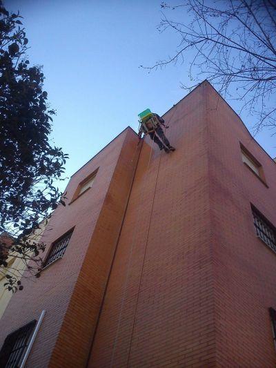 Limpiezas fachadas: Servicios de Jaco Construcciones