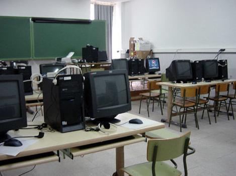Aula de informática IBM