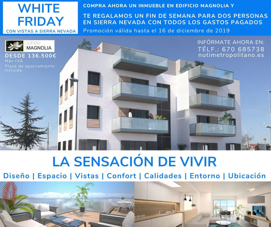 WHITE FRIDAY EDIFICIO MAGNOLIA