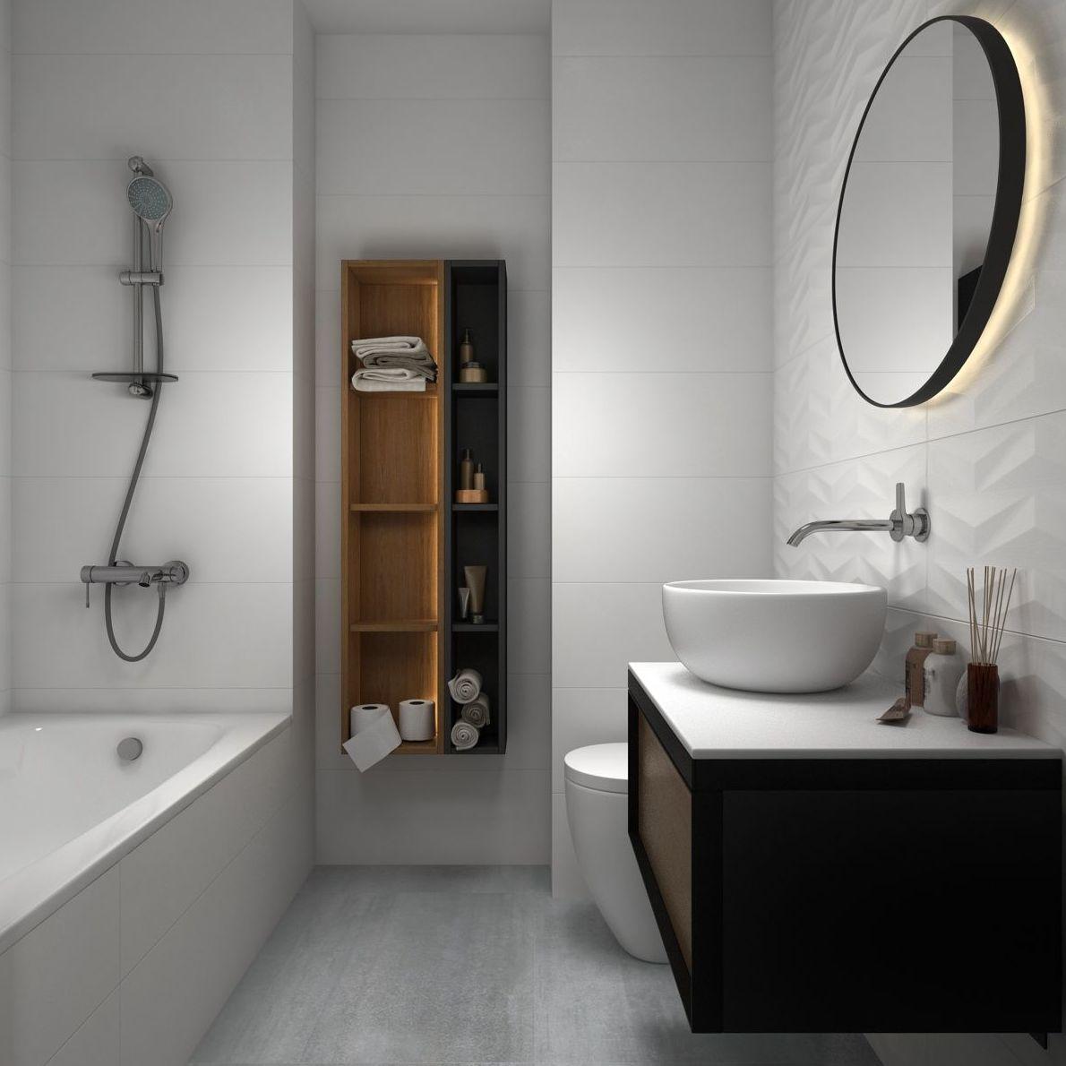 Opción 1 alicatado baño 2