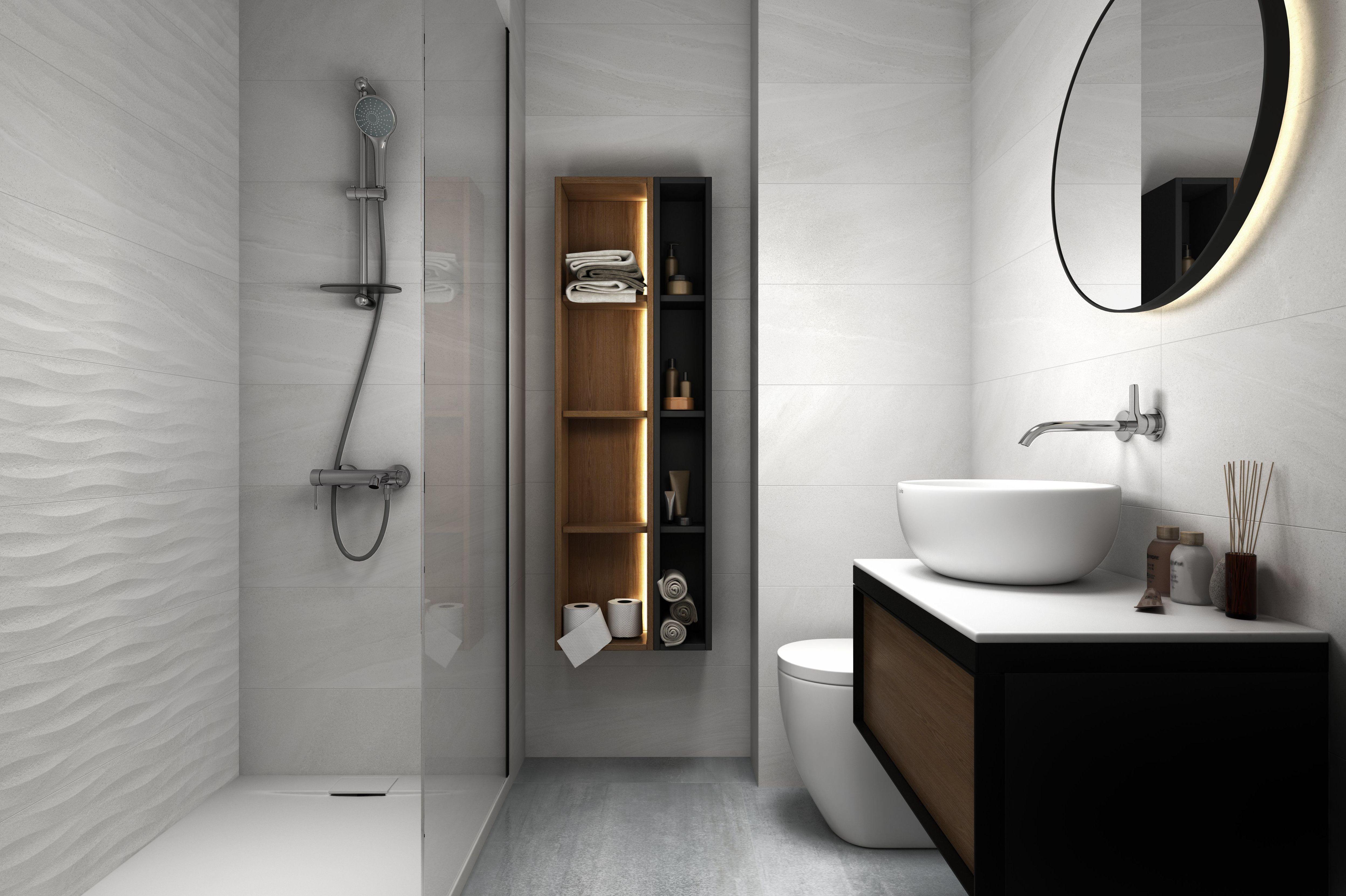 Elige el diseño de tu baño
