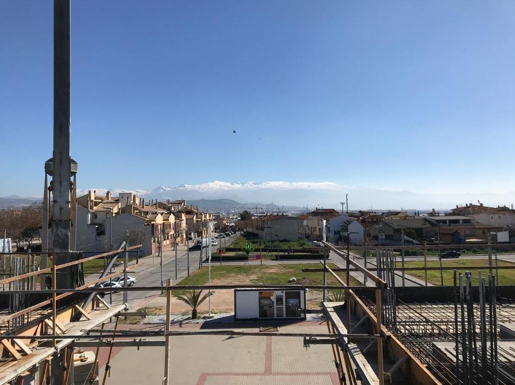 Vistas a Sierra Nevada desde la segunda planta del Edificio Magnolia