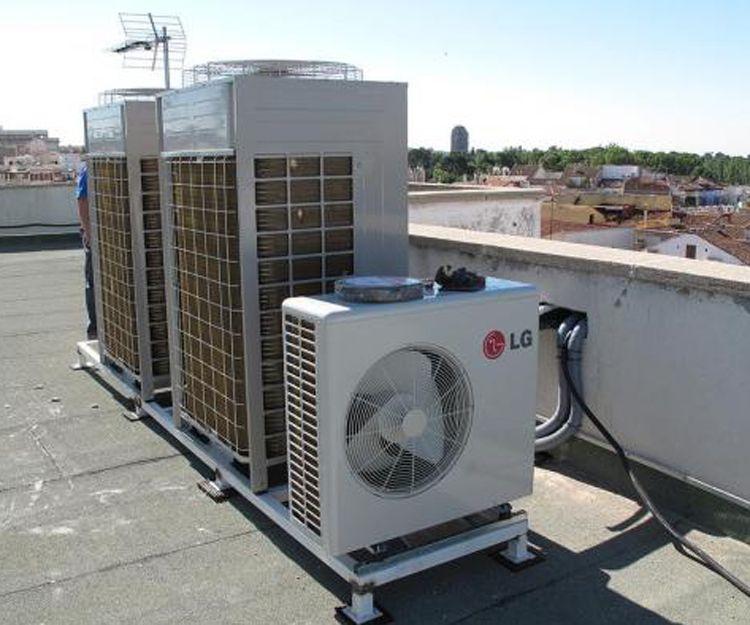 Empresa de climatización industrial en Madrid